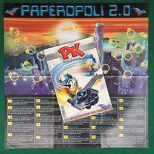 PK PIKAPPA PAPERINIK n.1 + POSTER Paperopoli 2.0 Walt Disney (ITA 2002) Fumetto