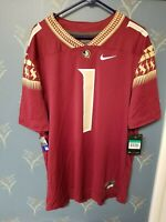 New Florida State Seminoles Jersey Men's XL Extra Large #1 Nike NCAA Football 1