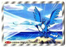 POKEMON TV TOKYO JR KIKAKU 1997 RV 3D N° 144 ARTICUNO ARTIKODIN