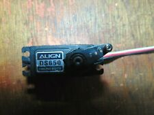 ALIGN DS650 DIGITAL HI-SPEED TAIL SERVO TESTED & WORKING