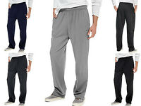 Men's Athletic Pants by CHAMPION Open Bottom w/ Pockets Size S - 2XL P7309