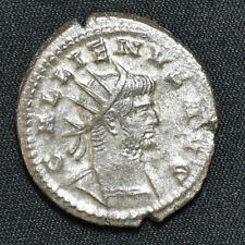 Gallienus, 253-268 AD, AE Antoninianus, Antioch, Mercury/FIDES AVG, RIC 607