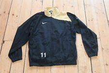 NIKE Vintage Old School Retro 90'S Urban Track Jacket Festival black gold UK M