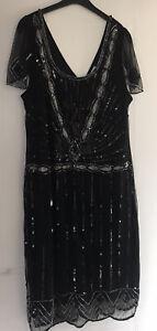 gatsby Sequin dress Size 18