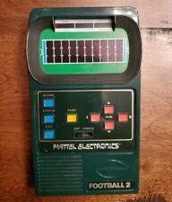 vintage Mattel Electronic Hand Held Football 2 game