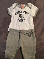 Baby Guess Short Sleeve Shirt / Atlhletic Pant Set Size 3/6M