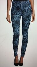 Seven For All Mankind Guinivere Floral Print Skinny Jeans Size 26 Worn Once