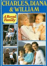 Princess Diana Prince Charles & William Photo Booklet Royal Family