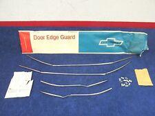 1965-66 CHEVY 4 DOOR IMPALA  DOOR EDGE GUARDS   NOS GM  417