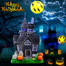 Halloween Decoration Spooky Haunted House Flashing Lights Motion Sensor Sound