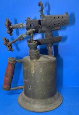 Antique Vintage Torch Brass C & LRare  Double Valve & Pump