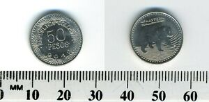 Colombia 2012 - 50 Pesos Nickel plated Steel Coin - Spectacled Bear walking