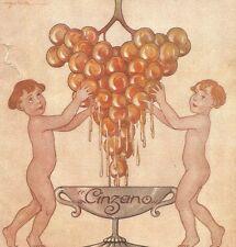 W7617 CINZANO - Illustrazione a colori - Pubblicità del 1920 - Old advertising