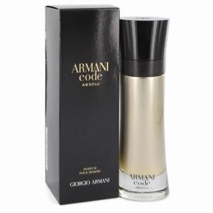 ARMANI CODE ABSOLU PARFUM SPRAY POUR HOMME  BY GIORGIO ARMANI 6.7