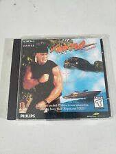 Thunder In Paradise Philips CDI CD-I 2-Disc Video Game Complete 1995 Hulk Hogan