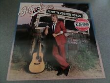 RICKY SKAGGS ~ Favorite Country songs UK LP 1985 Epic Records
