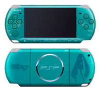 Rare Sony PSP 3000 Hatsune Miku Project Diva 2nd Ippai Pack Console Only Used Jp