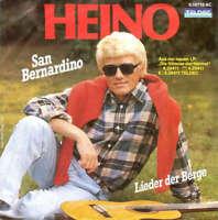 """Heino San Bernardino / Lieder Der Berge 7"""" Single Vinyl Schallplatte 31695"""