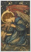 19th Century English Arts & Crafts The Messenger Of Peace Angel Louis DAVIS