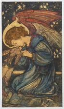 19th Century English Arts & Crafts The Messenger Of Peace Angel Louis DAVIS
