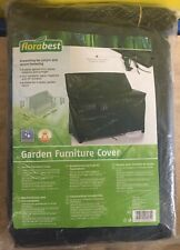 Florabest Garden Cover For 3 Seater Garden Bench & Other Furniture Includes Rope