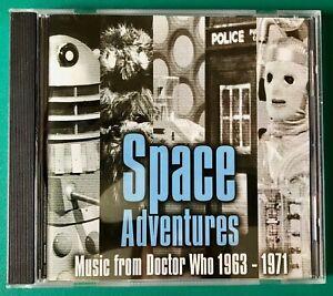 SPACE ADVENTURES Music from DOCTOR WHO 1963-71 DWAS LTD EDT CD Musique Concrète