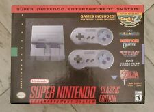 SNES Super Nintendo Classic Edition Mini Console System 21 Games: Built In: NEW