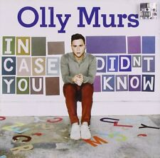 OLLY MURS IN CASE YOU DIDNT KNOW CD POP MUSIC 2011 NEW