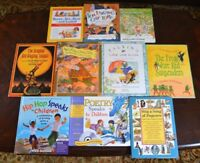 Lot 10 HB/PB Poetry Collection Books for the Young Jack Prelutsky Rhymes P3