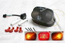 Harley Dyna Ultra Sportster Fat Boy LEDs Brake Light Taillight Turn Signal 358#m