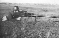 WW2 Picture Photo German soldier firing Solothurn S-18-100 anti-tank rifle 1440