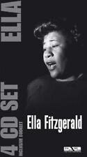 "Elle Fitzgerald ""Ella"" - 4-CD-Longbox incl. Booklet - NEU/OVP"