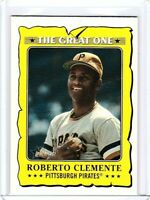 2021 Topps Heritage The Great One GO-22 Roberto Clemente - Pittsburgh Pirates
