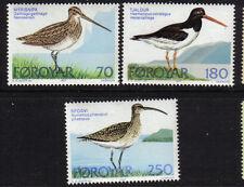 FAROE ISLANDS 1977 BIRDS MINT NEVER HINGED MNH DENMARK FØROYAR DANMARK