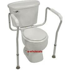 ALUMINUM TOILET SAFETY FRAME BATHROOM SAFETY HAND RAILS WITH ADJUSTABLE HEIGHT