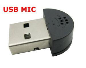 Nano USB Microphone Very Small USB Mic for Laptop Desktp PC notebook netbook