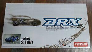 Kyosho 1/9 DRX SUBARU IMPREZA WRC 2008 GP 4WD Readyset (Never Run)