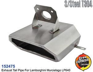 Exhaust tip S/Steel tailpipe trim for Lamborghini Murcielago LP640 PN 410253697A