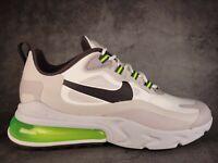 Nike Air Max 270 React CI3866-100 White Electric Green Black Men's Size 8.5