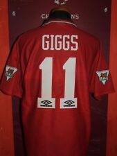 GIGGS MANCHESTER UNITED 1994/1995 MAGLIA SHIRT CALCIO FOOTBALL MAILLOT JERSEY