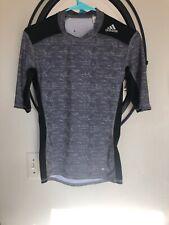 Adidas Tech-fit Compression Shirt Men Small