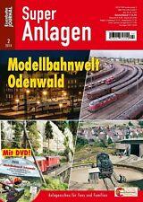 Eisenbahn Journal - Modellbahnwelt Odenwald - Mit DVD 2-2014 Super Anlagen