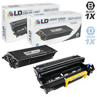 LD Compatible Brother 2PK: 1 TN560 Black Toner & 1 DR500 Drum Unit