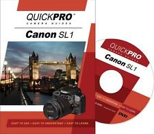 QuickPro Canon SL1 Instructional DVD Camera Guide