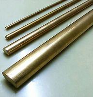 1pcs Brass Metal Rod Cylinder Diameter 20mm, Length 200mm #ED-9  GY