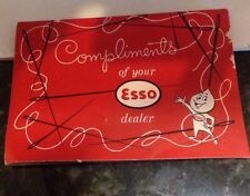 ESSO DEALER SEWING NEEDLE BOOK, compliments of your esso dealer oil co