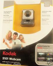 New Kodak S101 Webcam Built-In Microphone Use w/ Facebook YouTube MySpace Skype