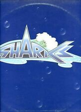 SHARKS same UK 1973 PINK RIM EX LP