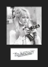 BRIDGET BARDOT #2 A5 Signed Mounted Photo Print - FREE DELIVERY