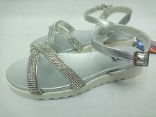 Xti Kids Silver Girl's Sandals Summer Size UK 10, 11, 13, 1, 2, 5